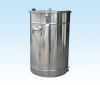 The stainless steel supplies the powder barrel