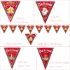 christmas flags/banners /xmas sticker/party decoration