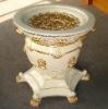 White round tea table