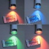 5W RGB LED spotlight with remote controller