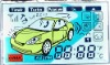 LCD display for Cars