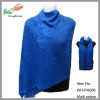 wholesale hot selling heart knitted cashmere shawl with tassel
