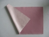 100% polyester knitted fabrics bonded with crepe pongee