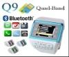 Q9 Watch Mobile Cell Phone Dual SIM Card Camera Mp3/4