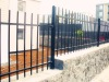 Anti-rust and anticorrosive Galvanized steel residential fence