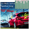 "20"" Green Car Sound music Activated equalizer Flash light Rhythm Lamp"