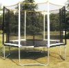 Hot!!! 2012 latest outdoor round trampoline, trampoline safety enclosure, sports trampoline