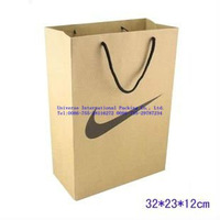 Sports franchise stores packaging paper bag