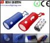 flashlight shaped waste bag dispenser