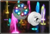 IP68 9W RGB LED Underwater Fountain Lights, 12v/24v, Factory Price