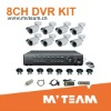 H.264 8CH CCTV System With CE,FCC,RoHS Certificates