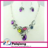 Fashion Diamond Costume Jewelry set wholesale