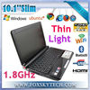 10inch Mini Laptop with Windows7 Intel Atom D425 CPU
