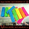 neon color PET base sticky note