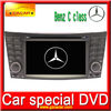 Car DVD For BENZ C series 2004-2007,with bluetooth ,DVD .USB.SD.