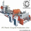 0.5-2.0mm Thickness of PE Plastic Geocell Machine Production Line