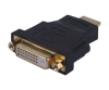 LSM018: HDMI MALE TO DVI FEMALE ADAPTER.