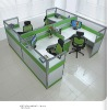 2012 China new arrival special unique design SP3 style aluminum frame office partition furniture
