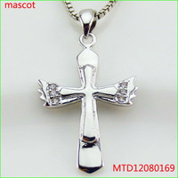 925 sterling silver jewelry cross pendant