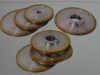 china made diamond grinding polish wheel