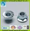 Stainless Steel Hexagon Flange Nuts