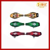 2012 the latest 2 wheels ABS wave skateboard