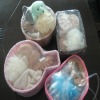 bath set in bag wooden bath gift set