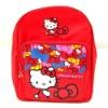 latest design pink cartoon school bag