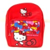 latest design pink cartoon school bag