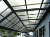 PC corrugated sheet ( transparent),PC wave sheet,polycarbonate tile,plastic roofing
