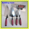 UK 5pcs set building tools 13mm brick jointer 150mm pointing trowel gauging trowel 280mm brick trowel plastering trowel