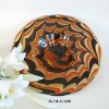 Phoenix Art Colored Glass Plates