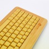 slim bamboo keyboard / usb keypad/ waterproof/ wired keyboard