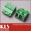 Barrier terminal block housing is PA66 U L94V-0 terminal is Brass 0.8t Tin-Plated Screw is Steel M4 Ni-Plated