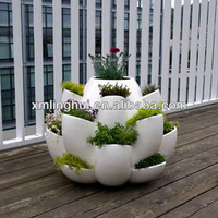 Best Selling Line Extraordinary Porous Resin Flower Planter