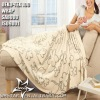 Yarn dyed Microfibre bedlinen blanket 150*200 cm