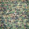 TC 80/20 W/P ribstop digital camouflage fabrics