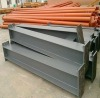 welded H-section steel beam