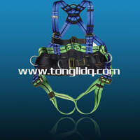 Industrial full body safety harness
