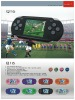2012 hot sale portable handheld 16-bit game console Q16
