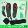 1800mA lithium battery eletric heating insoles for shoe fashion heated shoe pads with CE & ROHS