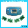 ZC-773A LCD Action Game with 5 in 1 changeable cards