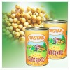 Organic canned green food canned chickpeas factory