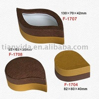 jewellery boxes wholesale design leaf-shaped jewellery box