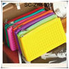 Silicon zipper wallet for women