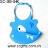 Design silicon baby bibs with baby product