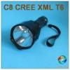 Diy C8 Cree Xml T6 Led Flashlight Original From Factory