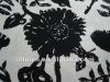 linen rayon/viscose print fabric blend fabric