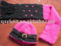 Kids Scarf & Hat Sets QSY8019