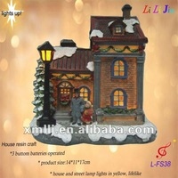 Mini resin huse craft